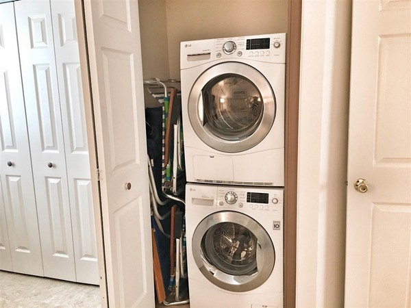 Washer and dryer top of the line