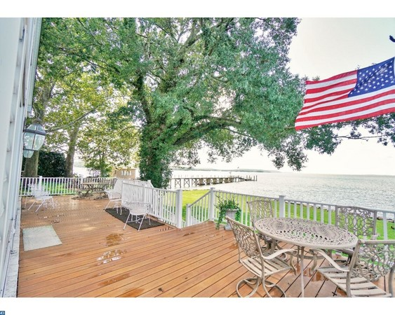 Shaded Wraparound Rear Deck with Room to Entertain Large Gatherings